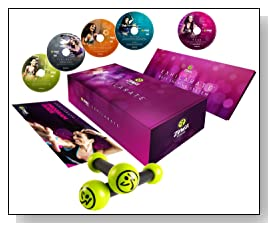 Zumba Fitness Exhilarate DVD Set Review