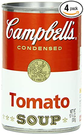 Campbell's Tomato Soup, 10.75 Ounce Cans (Pack of