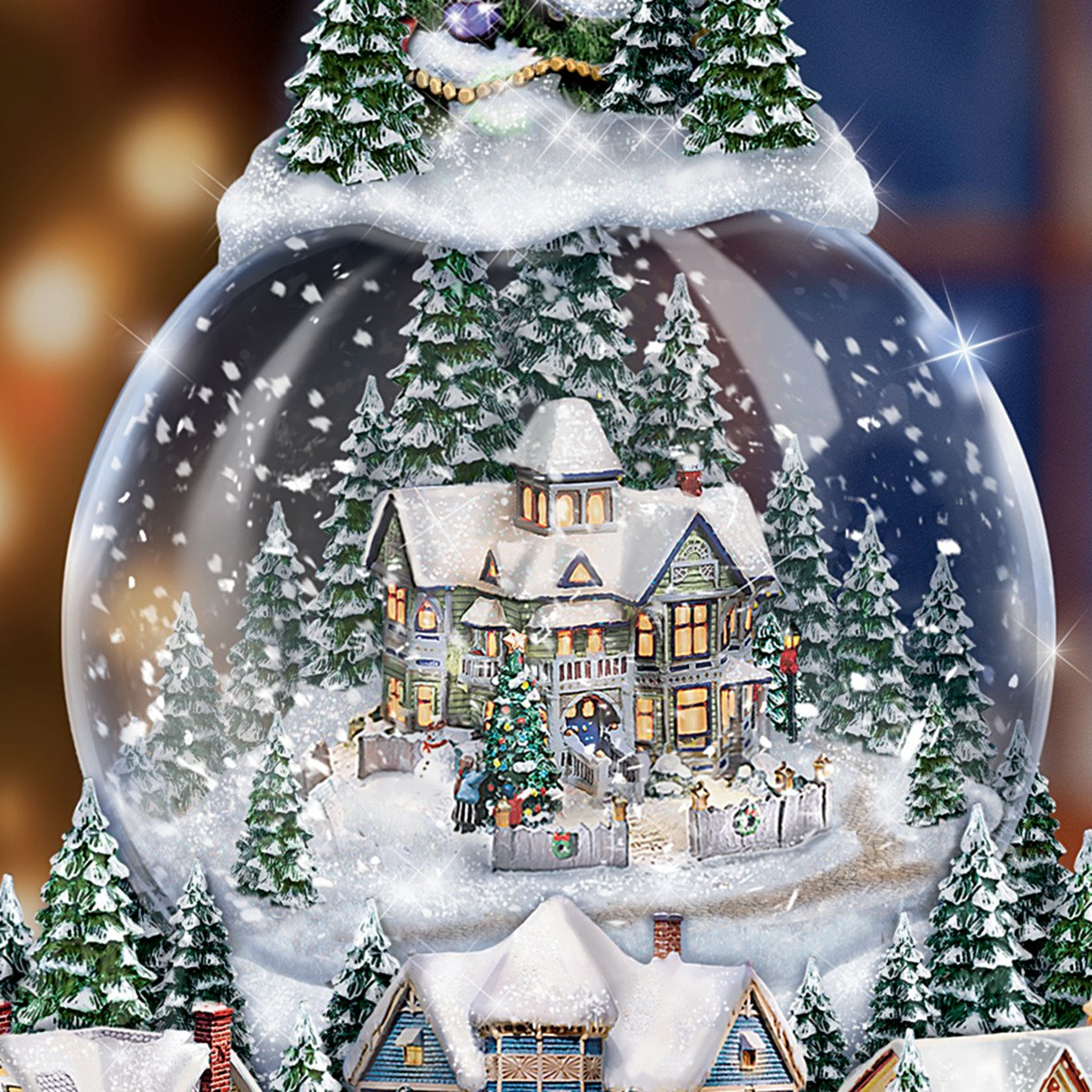 Best Musical Christmas Snow Globes Reviews on Flipboard by ...