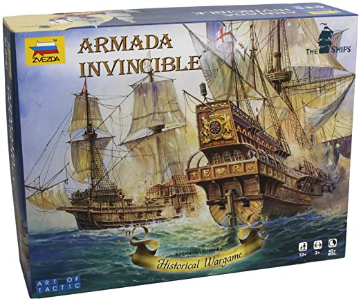 Zvezda 500786505 – Armada Invincible – Art of Tactic, voilier