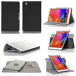 GearIT Samsung Galaxy Tab Pro 8.4 8,4 caso carcasas cubierta funda folio de piel  Electrónica Más información y revisión del cliente