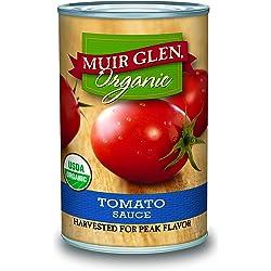 12-Pack Muir Glen Organic Tomato Sauce, 15-Ounce Cans