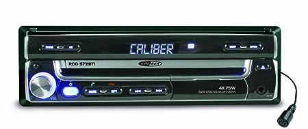 Caliber RDD572BTi Autoradio DVD/USB/SD/Tuner FM/AM/Entrée audio vidéo/Bluetooth Noir