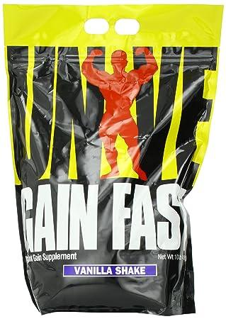Universal Nutrition Gain Fast 3100, Vanilla, 1er Pack (1 x 4.55 kg)