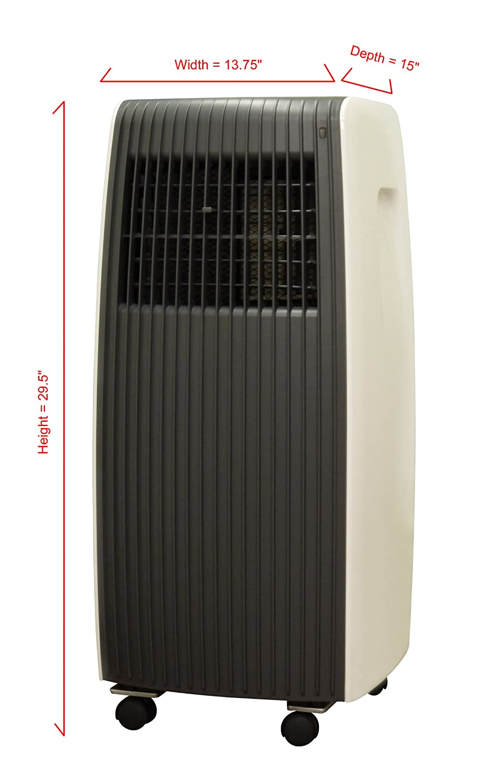 SPT 8,000BTU Single Hose Portable AC