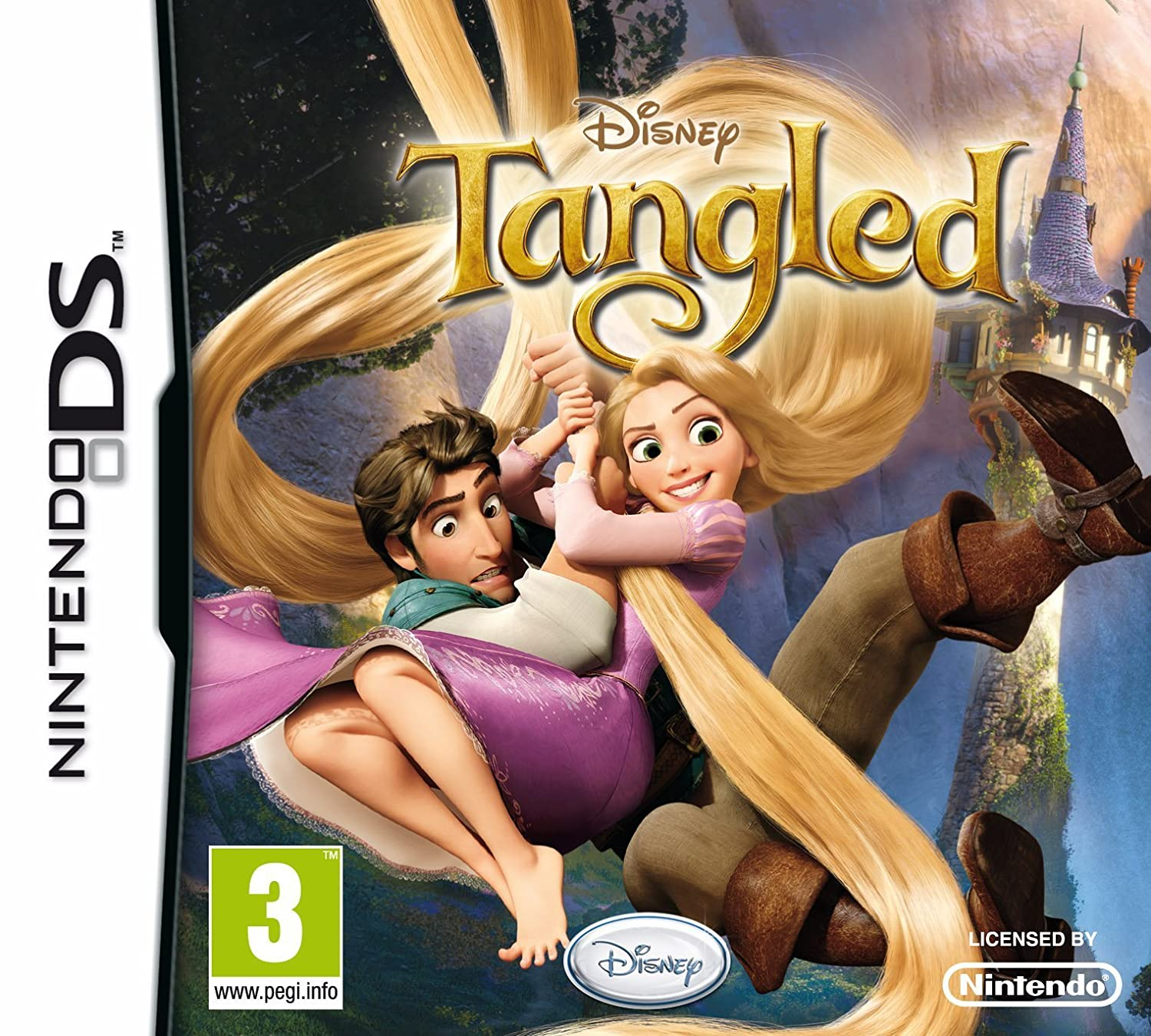 Games Nintendo Ds Disney Tangled Bid To Win Was Listed