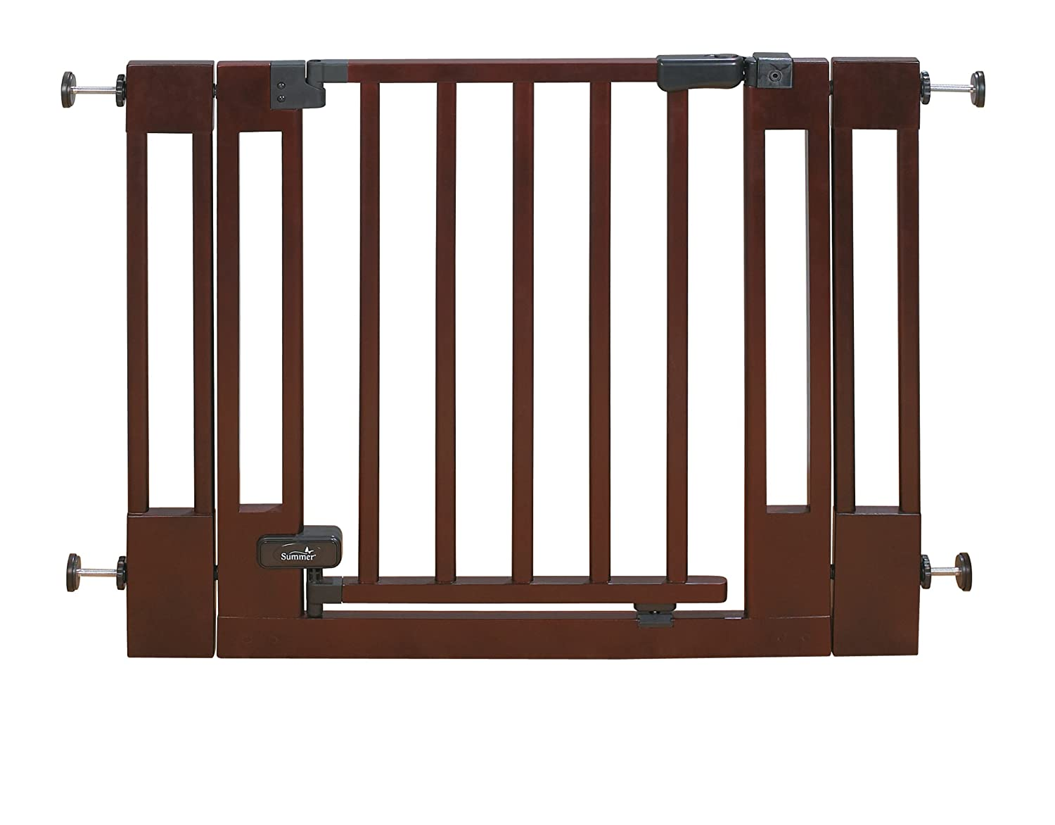 Summer Deluxe Top Of Stairs Wood Walk-thru gate