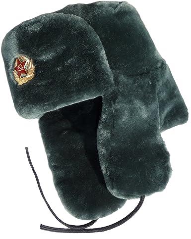 Fur Russian Ushanka Winter Ushanka Soldier