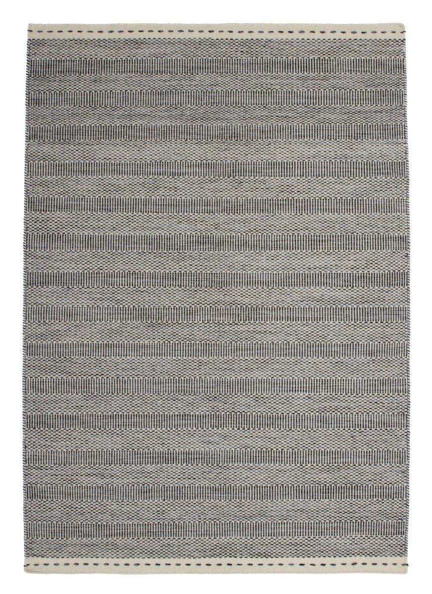 Bombay 343 Grau Teppich Teppiche Modern Design, Größe:120cm x 170cm jetzt kaufen