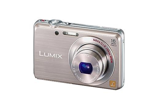 """Panasonic Lumix DMC-FS45EG-N Appareil photo numérique 16 mégapixels, zoom optique 5 x, écran 7 cm (2,9""""), grand angle 24 mm, vidéo HD, stabilisateur d'image (Champagne) (Import Allemagne)"""