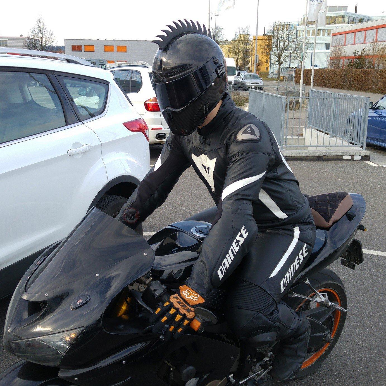 Buy Motorcycle Helmet Mohawk Now!