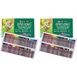 Sakura XLP50 50-Piece Cray-Pas Expressionist Assorted Color Oil Pastel Set Pack of 2 (Tamaño: 2 Pack (50 Color Set))