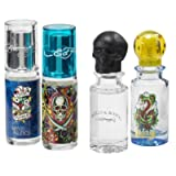 Ed Hardy Variety For Men By Christian Audigier 4 Pc. Mini Gift Set (Color: multi/none, Tamaño: 4 Piece Variety Set)