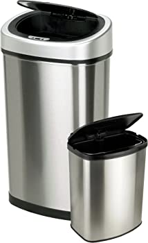 Touchless Automatic Motion Sensor Trash Cans