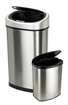 Nine Stars Touchless Automatic Motion Sensor Trash Can
