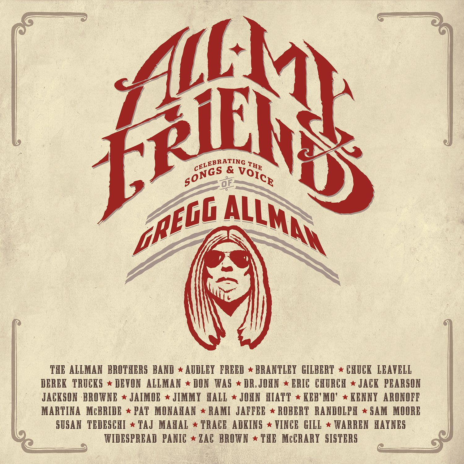 All My Friends: Celebrating The Songs & Voice Of Gregg Allman (2 CD + DVD) 81Y94WE2DsL._SL1500_