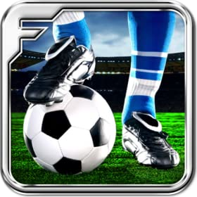 Jouer au football - un match de football Real - 3D
