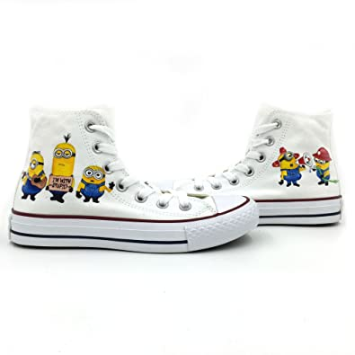kids white converse high tops