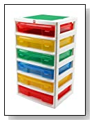 LEGO Workstation Plastic Storage Unit