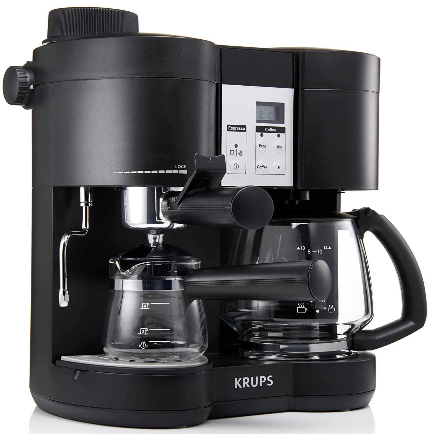 Why the KRUPS XP160050 Steam Espresso and coffee Machine?