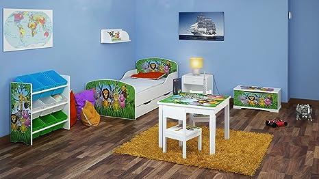 """Camera da letto per un bambino """"Giungla"""" Set di 6 Mobili"""