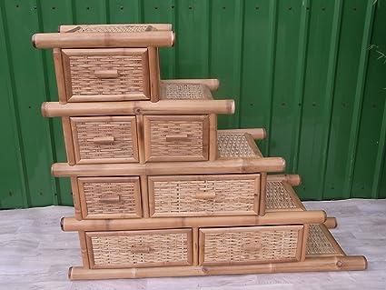 Bambuskommode Kommode Bambus Schrank Regal Lowboard Sideboard HoChiMinh