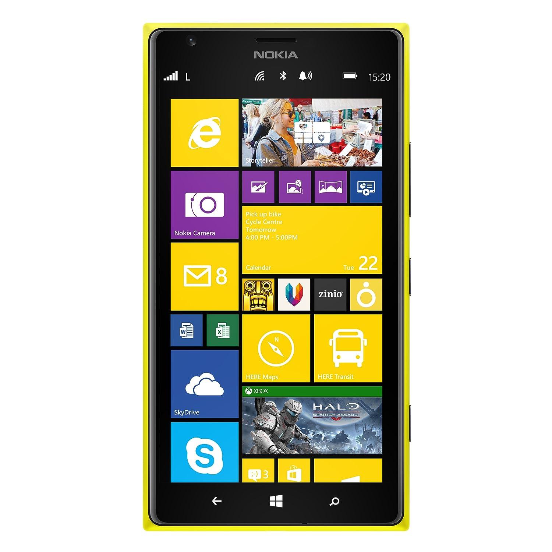 Nokia-Lumia-1320-Yellow-8GB-Factory-Unlocked-GSM-International-Version-phone-No-Warranty