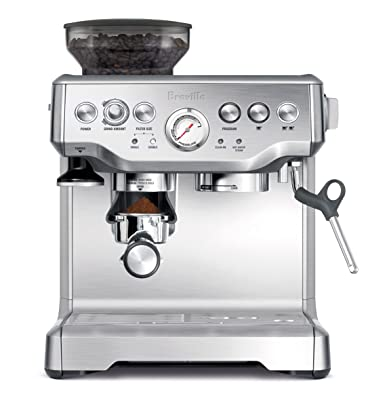 Breville BES870XL Barista Express Espresso Machine Via Amazon