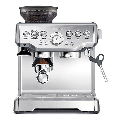 The Breville BES870XL Barista Express Espresso Machine