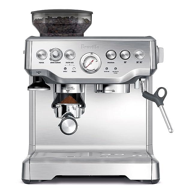 Breville BES870XL Barista Express Espresso Machine Via Amazon