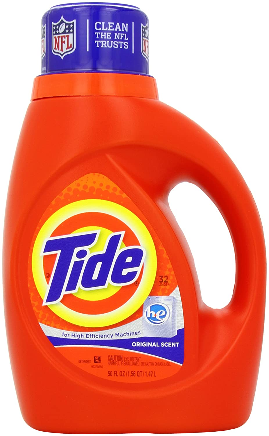 Amazon - Tide HE Liquid Detergent, 50 Ounce (Pack of 2) - $9.38