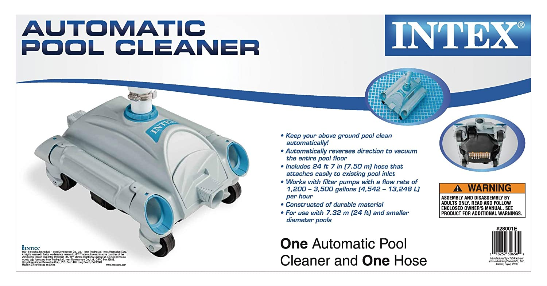 Intex Auto Pool Cleaner New Free Shipping Ebay