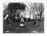 White House Easter egg roll, 1889