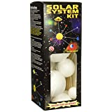 Smoothfoam Unpainted Solar System Kit W/Paint & Brushes (Color: Original Version)