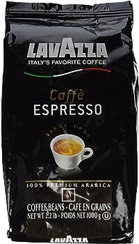 Lavazza Caffe Espresso 2.2 lbs Whole Bean Coffee