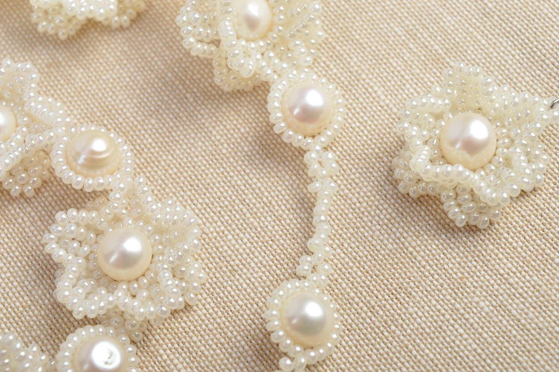 Schmuck Set Modeschmuck Ohrringe Armband Damen handmade Damen Halskette schön online bestellen