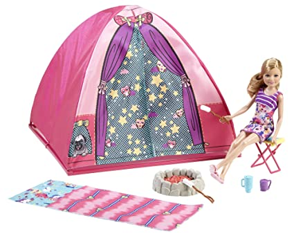 Barbie Sisters Camp Out Set with Stacie Doll