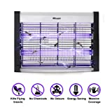 ABsuper Electric Bug Zapper, Indoor Use Only, 20W Energy Saving, 6000sq.ft/557sq.Meters Coverage, Effectively Kill Mosquito, Fly, Insect, Work for Home, Office, Enclosed Garden, Stable, Warehouse