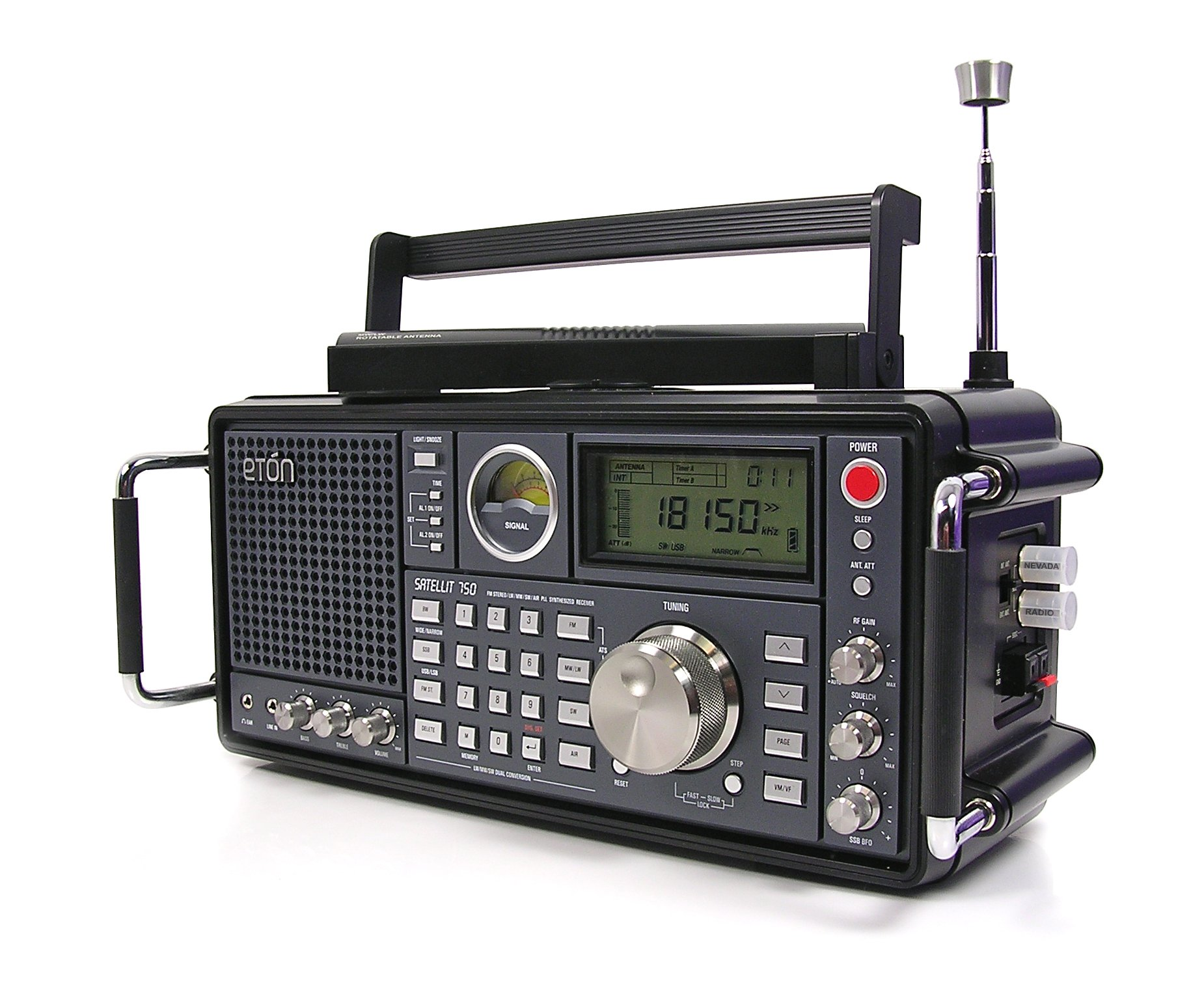 Eton Grundig Satellit 750 AM/FM Stereo - Receives ...
