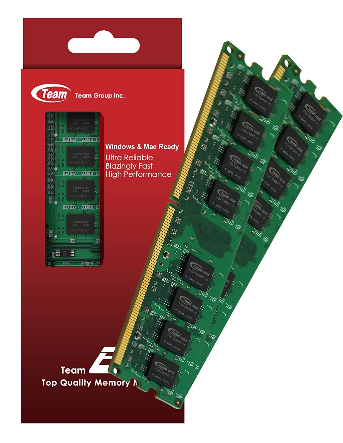 4GB (2GBx2) Team High Performance Memory RAM Upgrade For Dell XPS 720 H2C 9150 One 20. The Memory Kit comes with Life Time Warranty. 450260 b21 445167 051 2gb ddr2 800 ecc server memory one year warranty