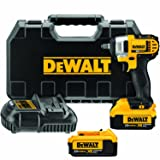 DEWALT DCF883M2 20-volt MAX Lithium Ion 3/8-Inch Impact Wrench Kit with Hog Ring (Color: Yellow)