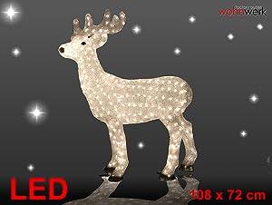 LEDAcryl Rentier 420 LED Weihnacht X mas Rentiere Hirsch  Kundenbewertung: