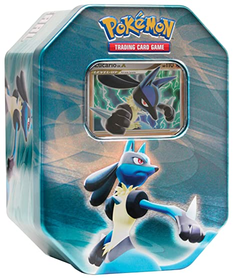 Pokemon Diamant & Perl Lucario Tin Deck Box [Import allemand]