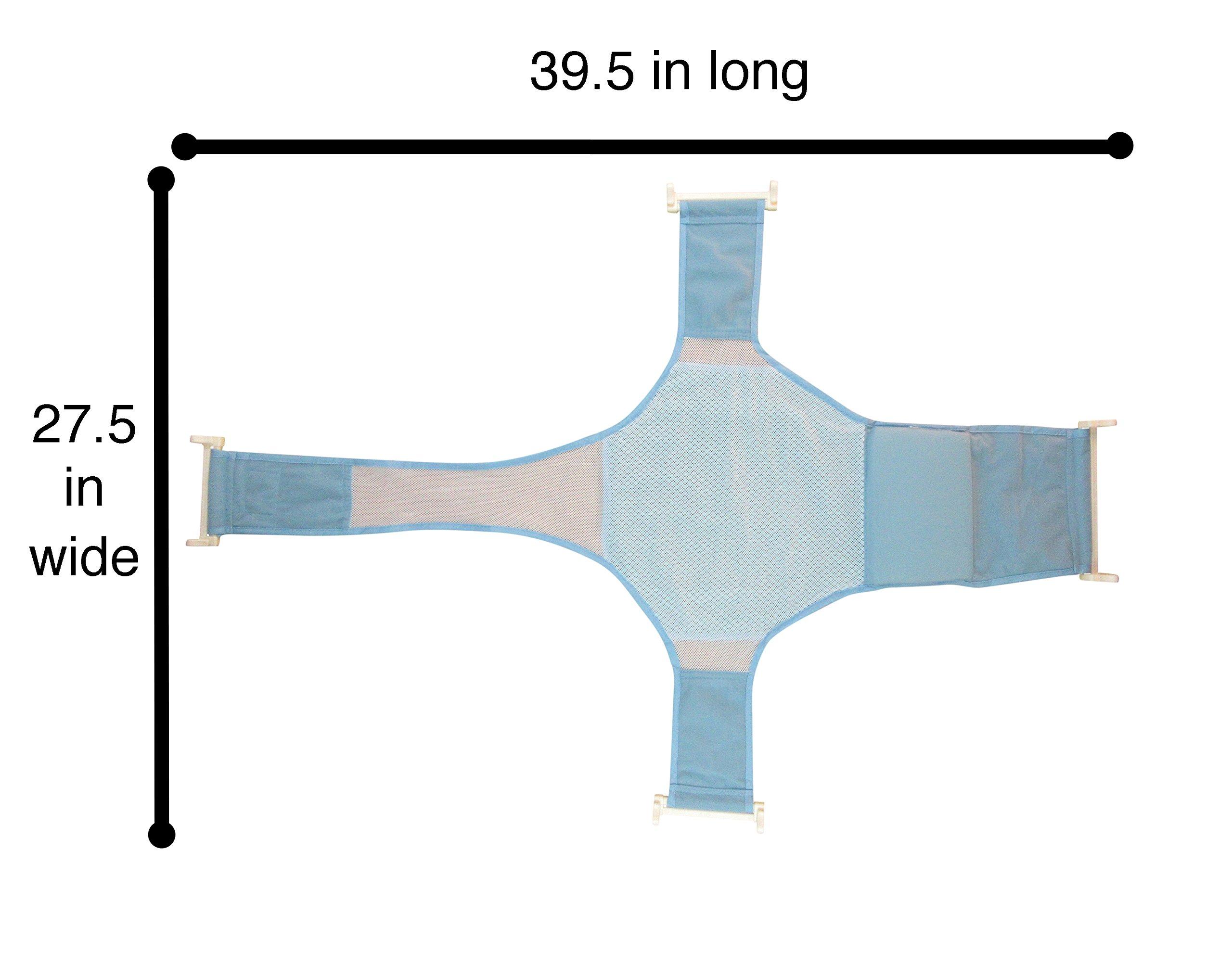 galleon baby bathtub seat support sling net karibu aojia infant bath tub hammock. Black Bedroom Furniture Sets. Home Design Ideas