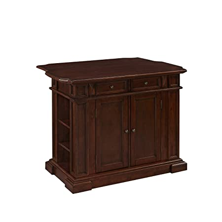 Home Styles 5005-944 Americana Kitchen Island, Cherry Finish