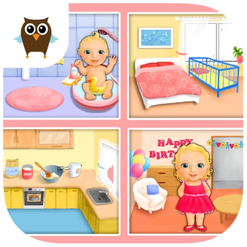 Sweet Baby Girl Dream House 5 In 1 Take Care Of Baby