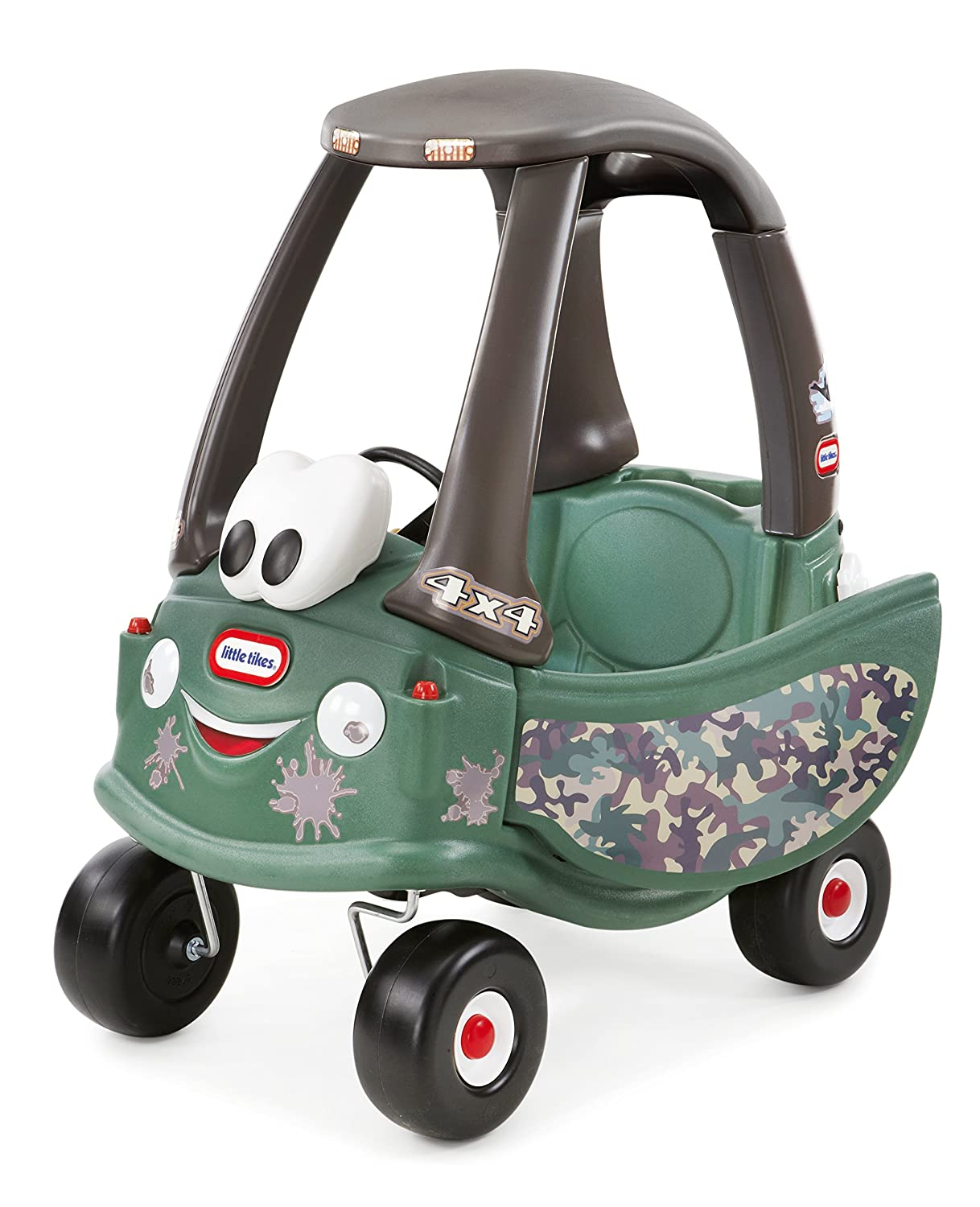 An Image of Little Tikes Cozy Coupe Off-Roader Ride-On, Camo