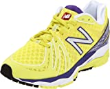 New Balance Women's W890v2 Running Shoe,Yellow/Purple,11 B US