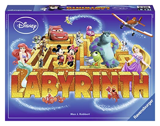 Ravensburger - 26639 - Jeu De Plateau - Labyrinthe Disney Multi-héros