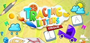 Tracing Letters Kids Game from Gameiva